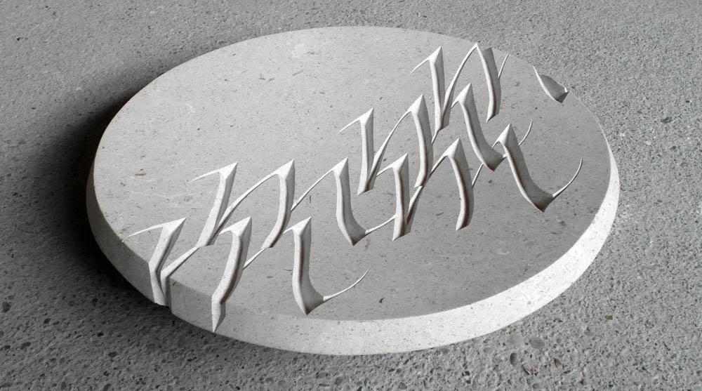 Michiel Deylius - Schaal Italic- in de serie Ode aan het Lettertype