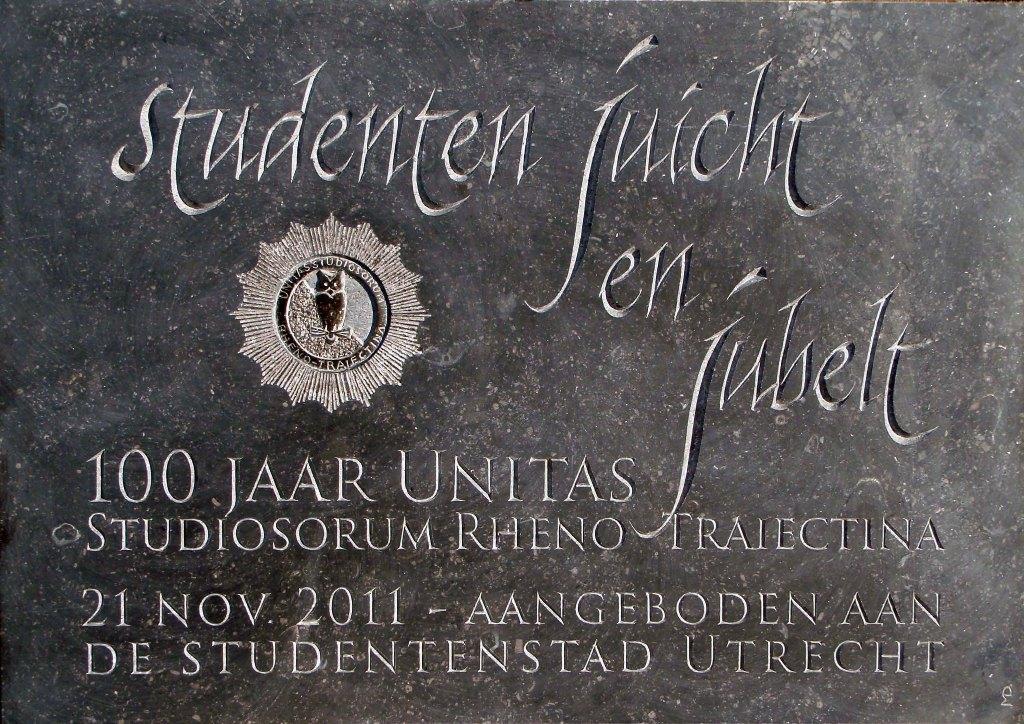 Gedenksteen Unitas – Centenniumste
