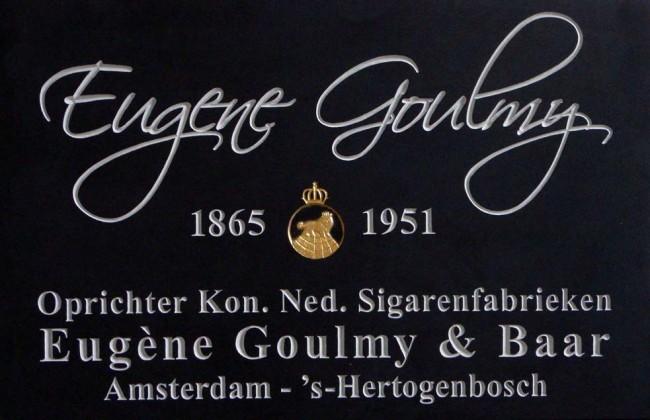 Gedenksteen Eugene Goulmy