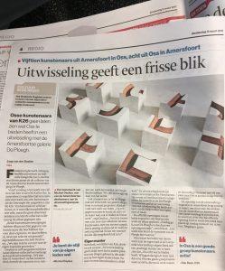 Artikel uitwisseling K26 en De Ploegh Brabant Dagblad
