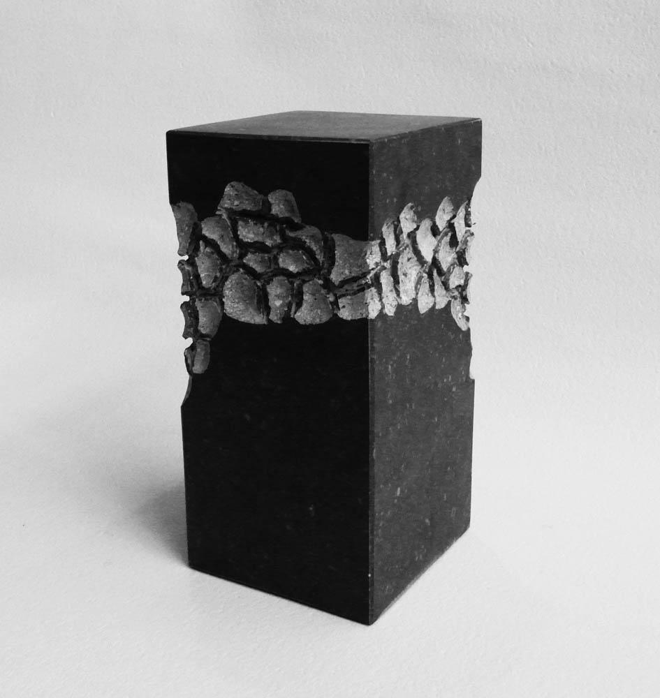Urn handgemaakt natuursteen